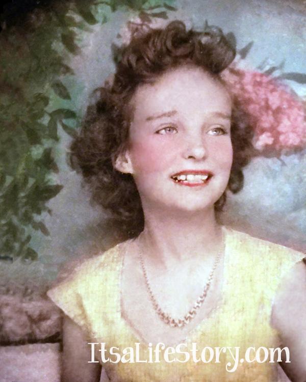 Grandmother as Young Girl