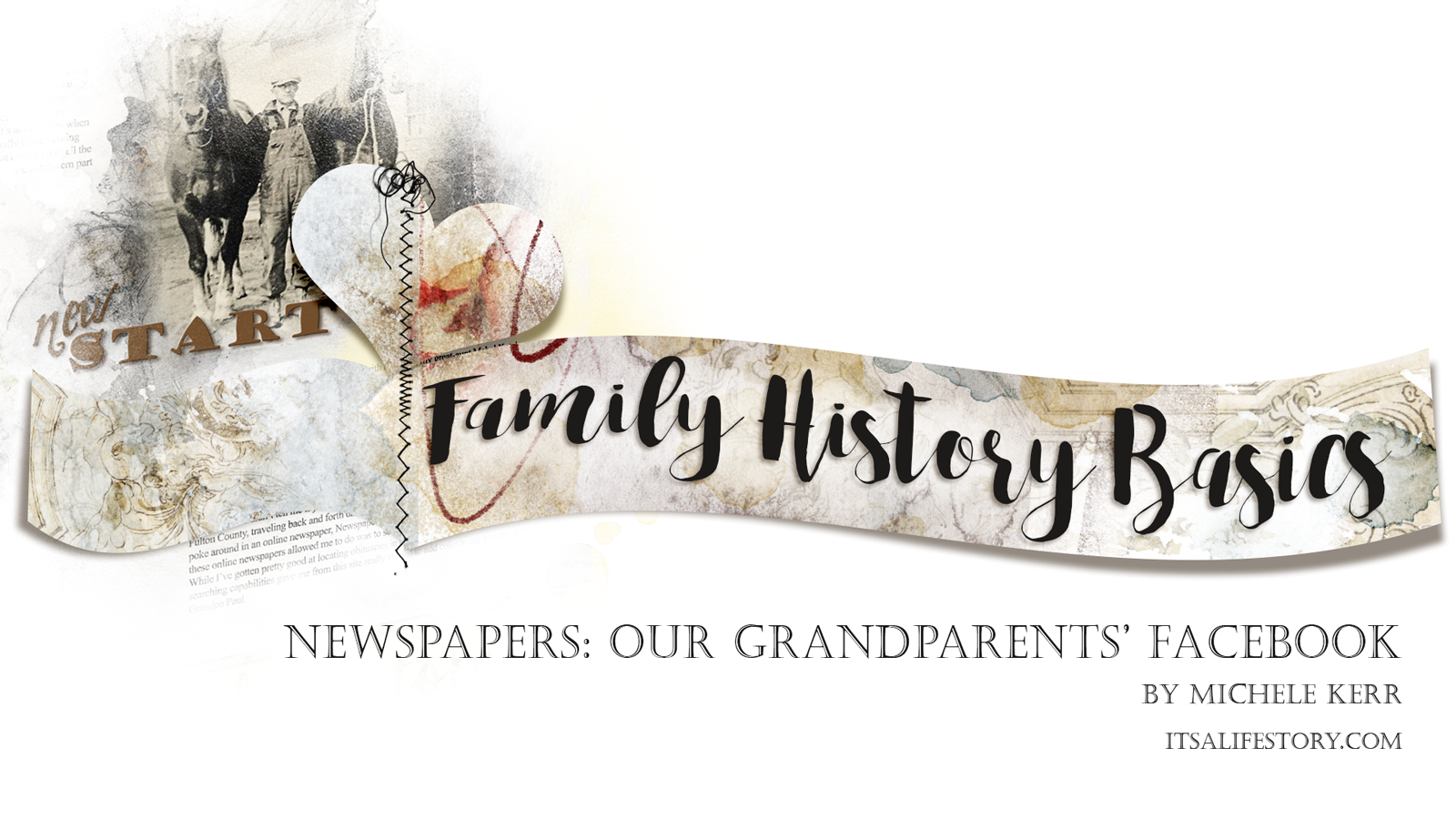 ItsALifeStory.com _ Newspapers - Our Grandparents Facebook